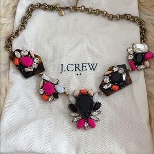 J Crew multicolour necklace
